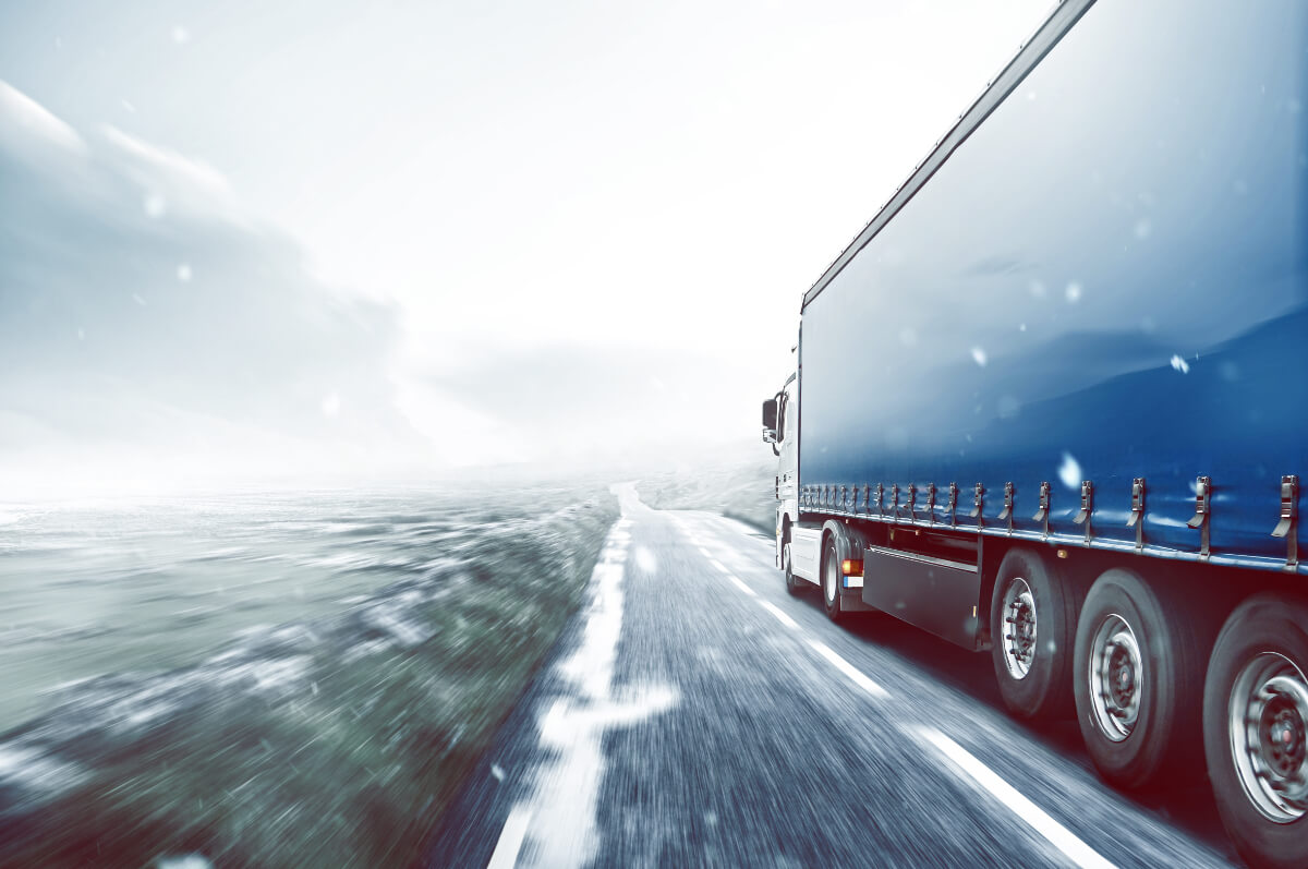 Unloading Refrigerated Truck Loads During the Winter